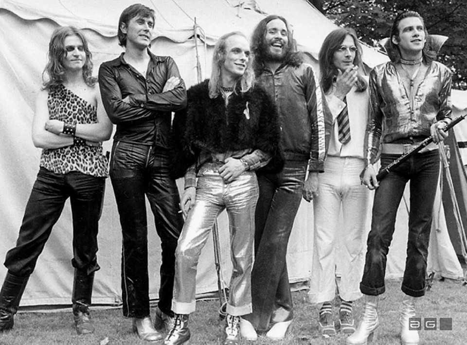 Roxy Music by Barrie Wentzell