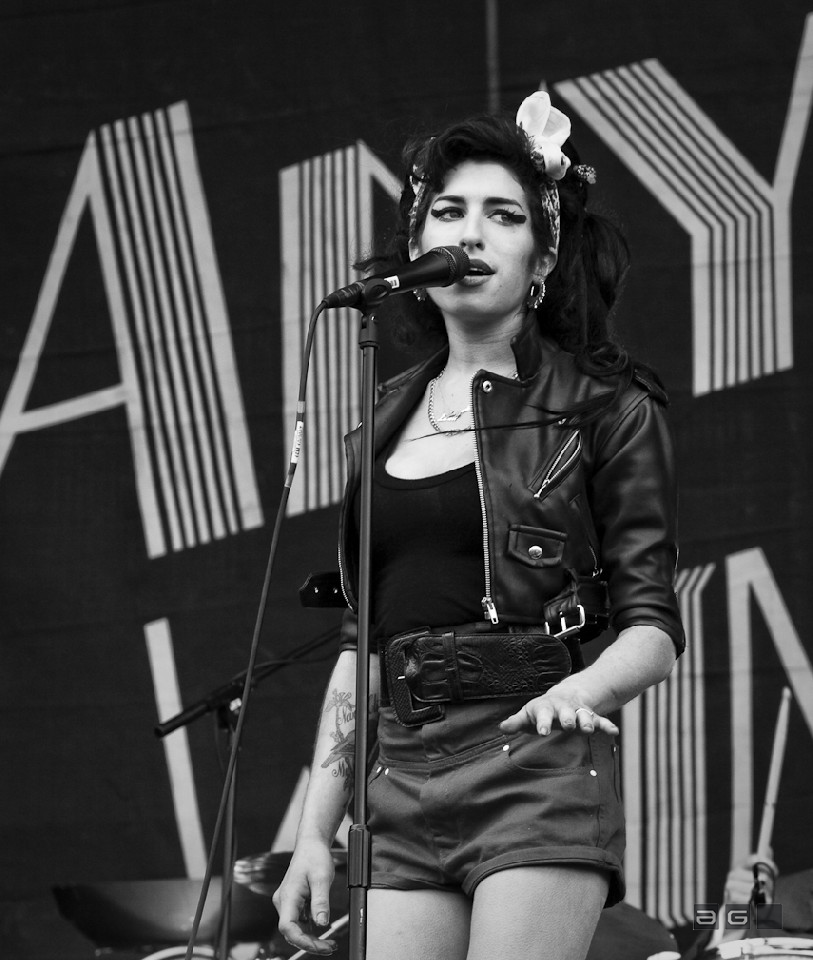 Amy Winehouse by Lucia Remedios