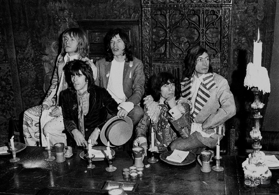 The Rolling Stones by Barrie Wentzell