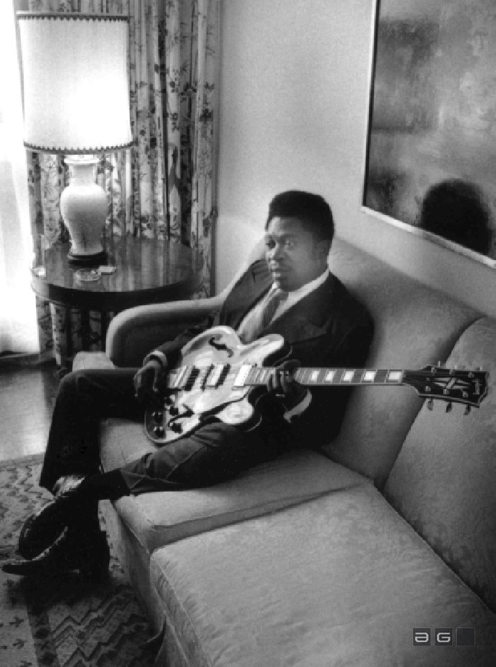 BB King by Barrie Wentzell