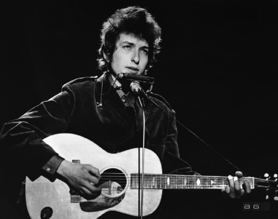 Bob Dylan by Barrie Wentzell
