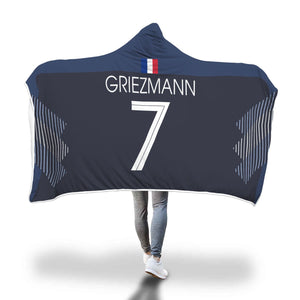 the latest 657c6 99fd6 Griezmann France Home Jersey 2018 Hooded Blanket - FIFA World Cup