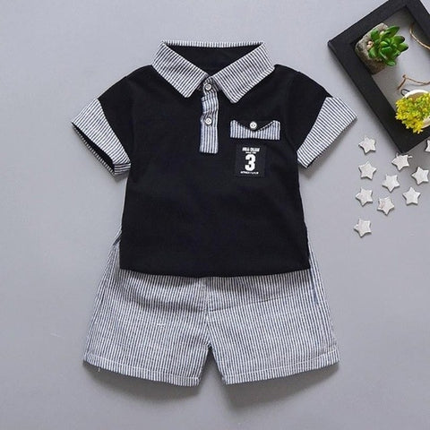 Boys Summer Clothes Toddler Kids Baby Boy