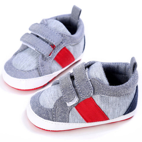 Fashion Baby Shoes Boy Girl Newborn Crib Soft Sole