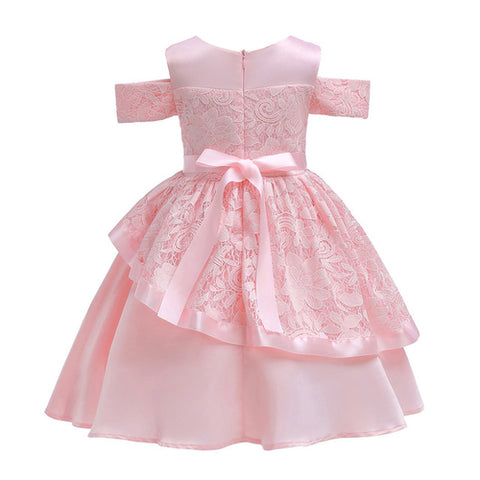 Newest Floral Baby Girl Princess Bridesmaid