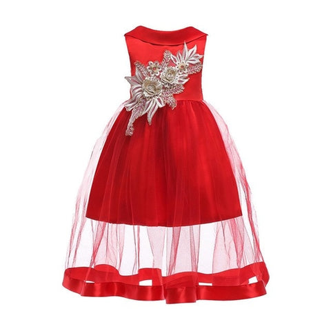 Newest Floral Baby Girl Princess Dress Casual