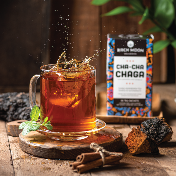 Cha-Cha Chaga Tea with Cinnamon – Chaga Mushroom Tea
