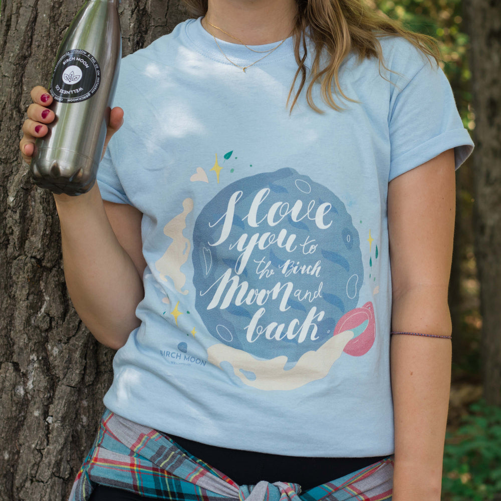 To the Moon & Back – Cotton Short Sleeve Graphic T-shirt