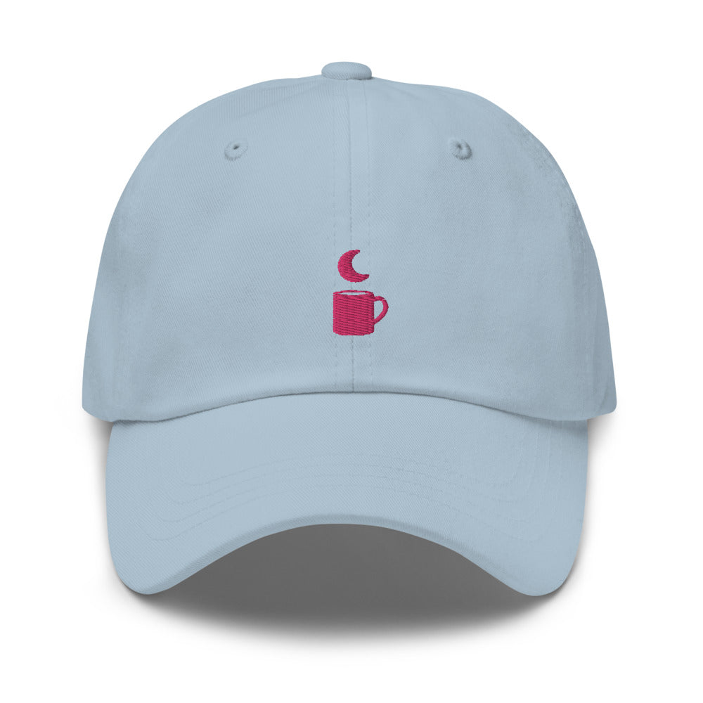 Moon Cup – Baseball Cap with Embroidery Design