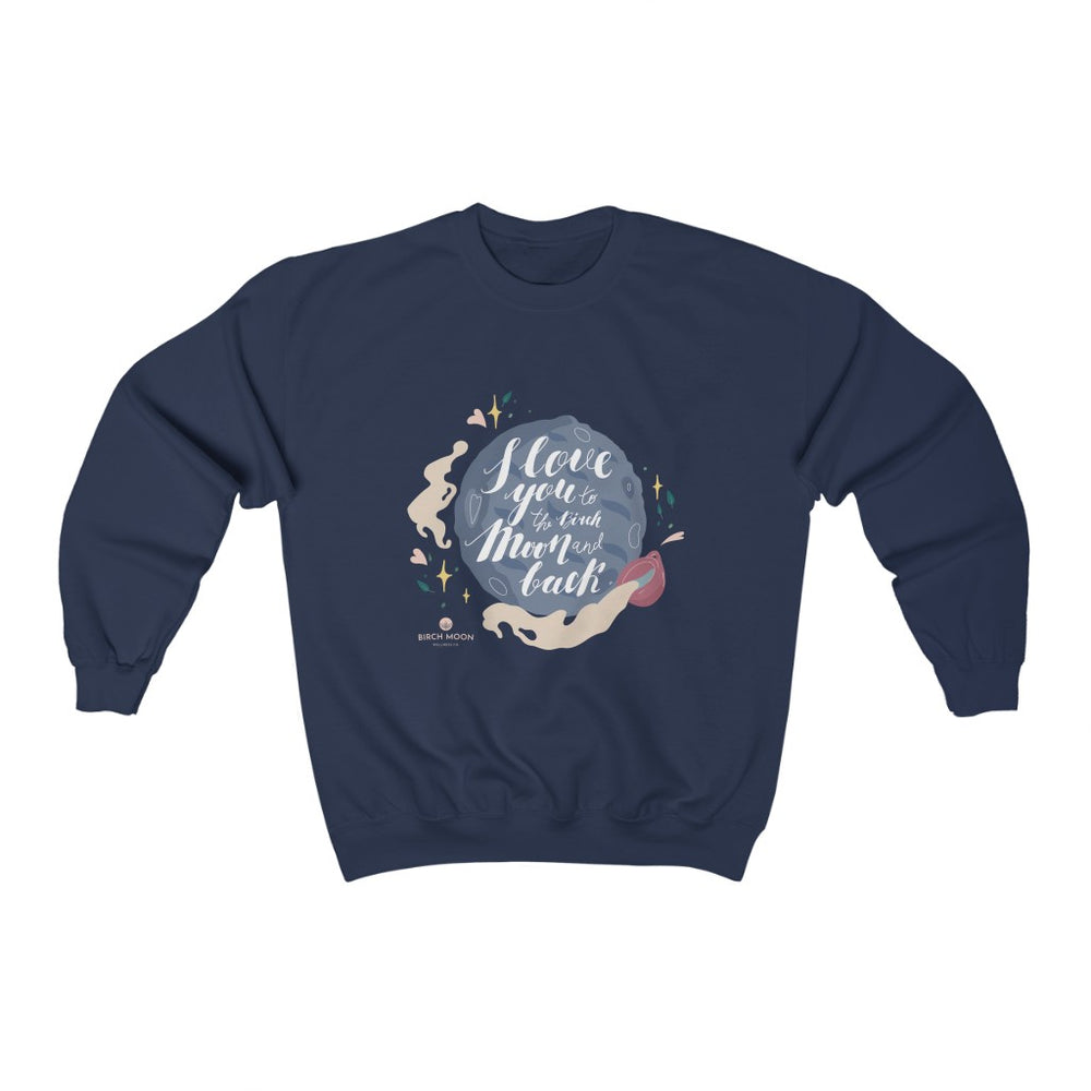 To the Moon & Back – Graphic Sweatshirt