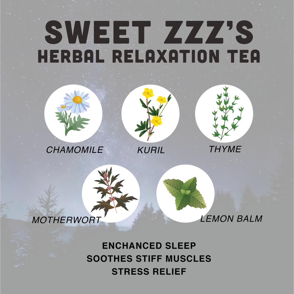 Sweet ZZZ's Sleep Tea ✨ Relaxation Remedy