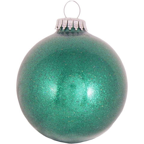 "3 1/4"" Glass Ornament with 2"" Print Area"