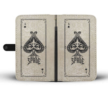 Load image into Gallery viewer, Ace of Spades Wallet Case