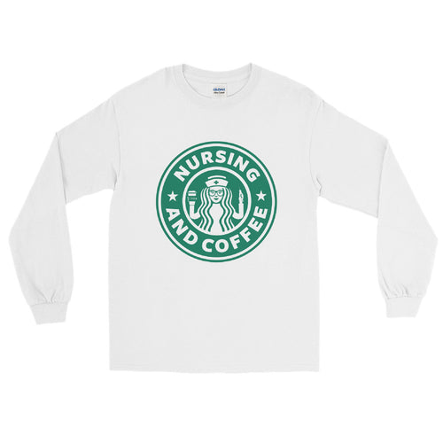 Nursing & Coffee Long Sleeve T-Shirt
