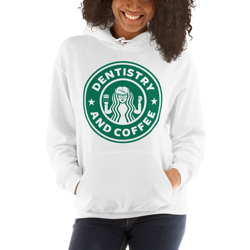 Dentistry & Coffee Hooded Sweatshirt