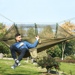 Treehouse Mosquito Net Hammock - The Gadget Sniper