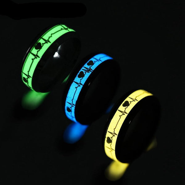 Glow in the Dark Heart Rate Electrocardiogram - The Gadget Sniper