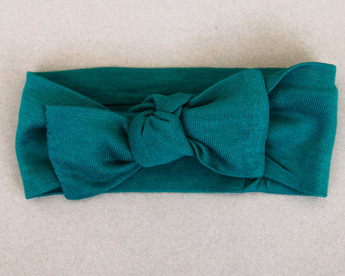 Jade Knotted Headband