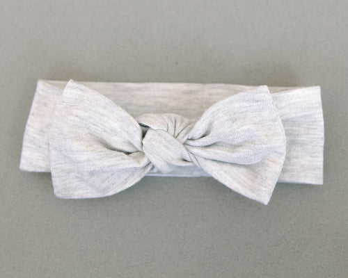 Your Favorite T-Shirt Grey Knotted Headband