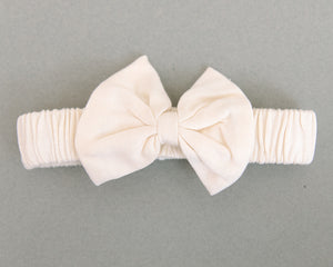 Coconut Pie Bow Tie Headband