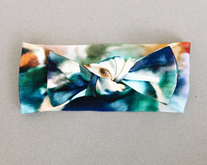 The Charli Print Knotted Headband