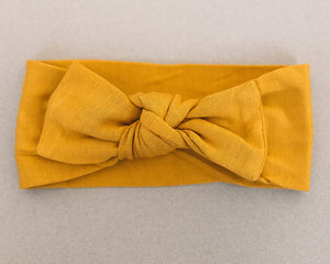 Golden Knotted Headband