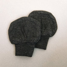 Load image into Gallery viewer, Charcoal No Scratch Mittens