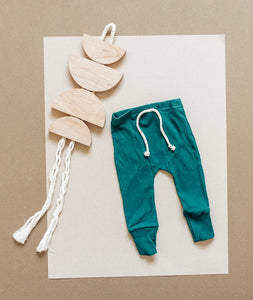 Fitted Jogger - Emerald