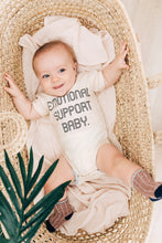 Load image into Gallery viewer, Emotional Support Baby Snapsuit