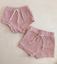 Load image into Gallery viewer, Ribbed Shortie Set - Prickly Pear Pink