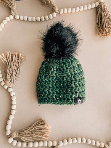 Forest Pom Hat