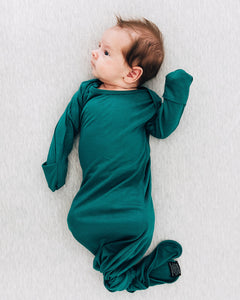 Jade Knotted Gown
