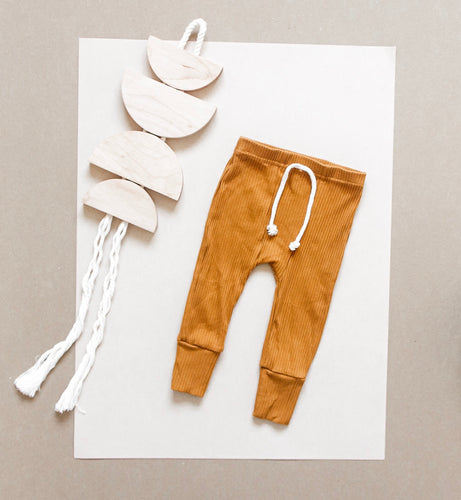 Fitted Jogger - Rust