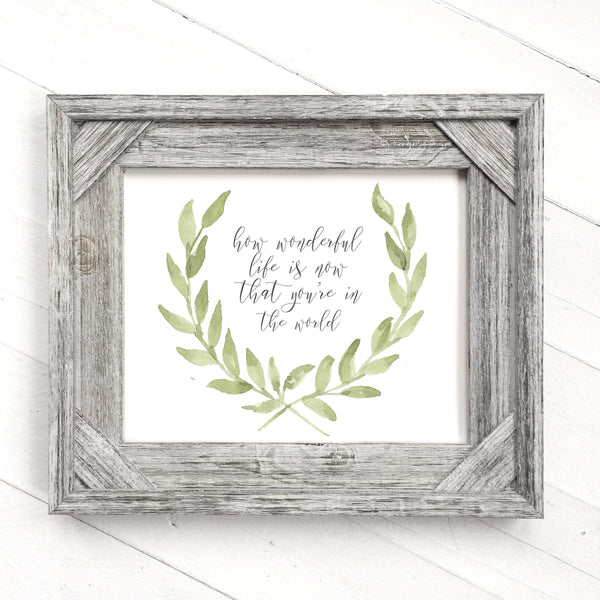 Green Crest - Customizable Print