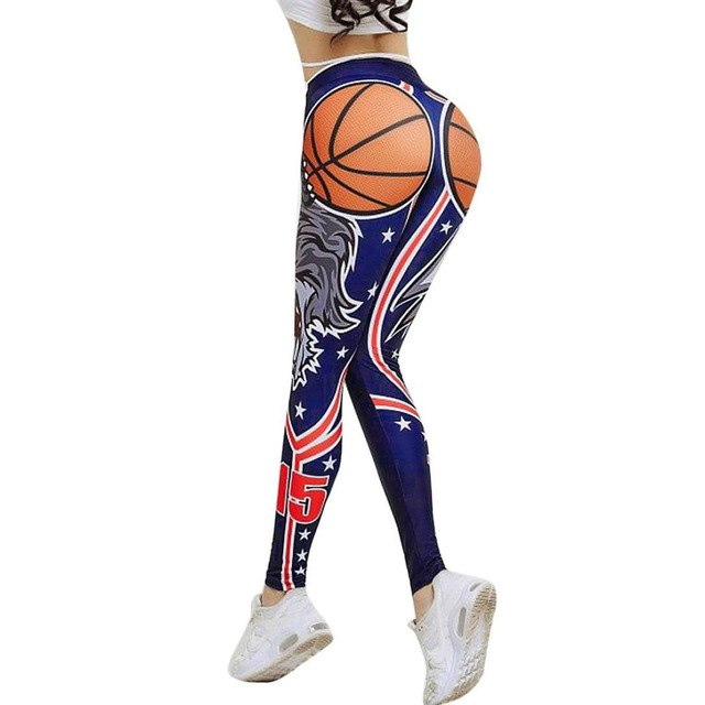 Women's Basketball Print Leggings - Love For Leggings