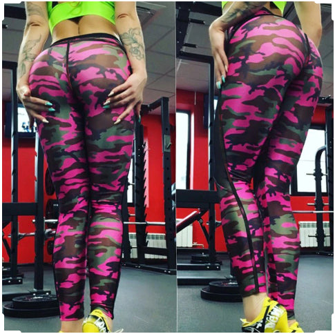 Bad Bones™ - Skull Printed Mesh Leggings - Love For Leggings