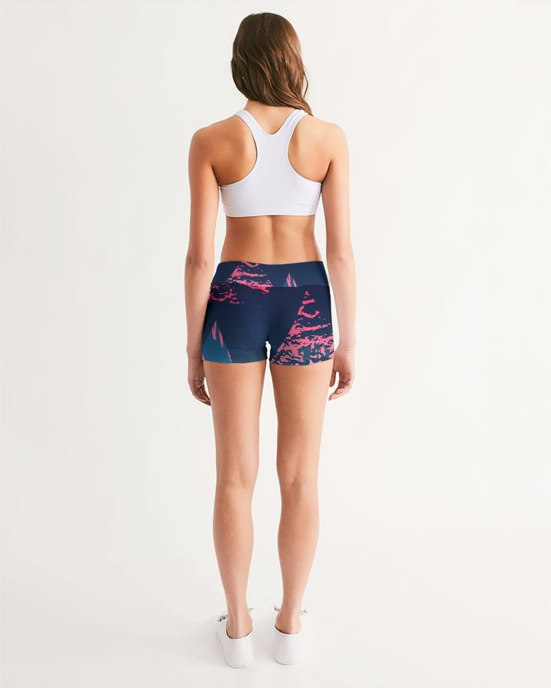 Active Comfort Victory Mid-Rise Yoga Shorts
