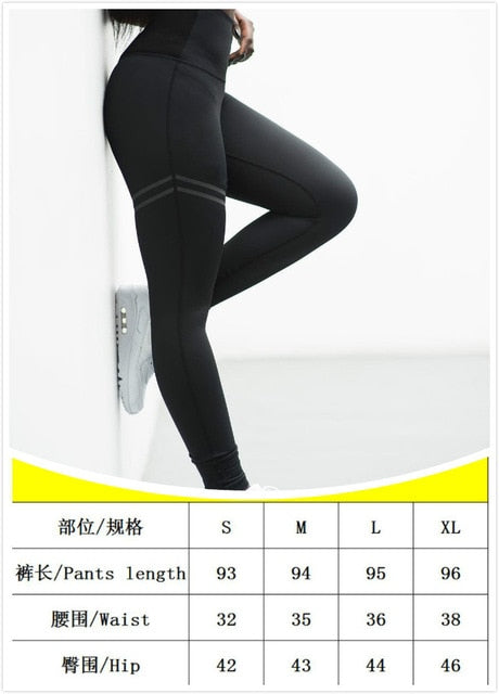 Sexy Women Yo-ga Pants Women Leggings Workout Sports Running Leggings Sexy Push Up Gym Wear High Waist Fringe Elastic Slim Pants
