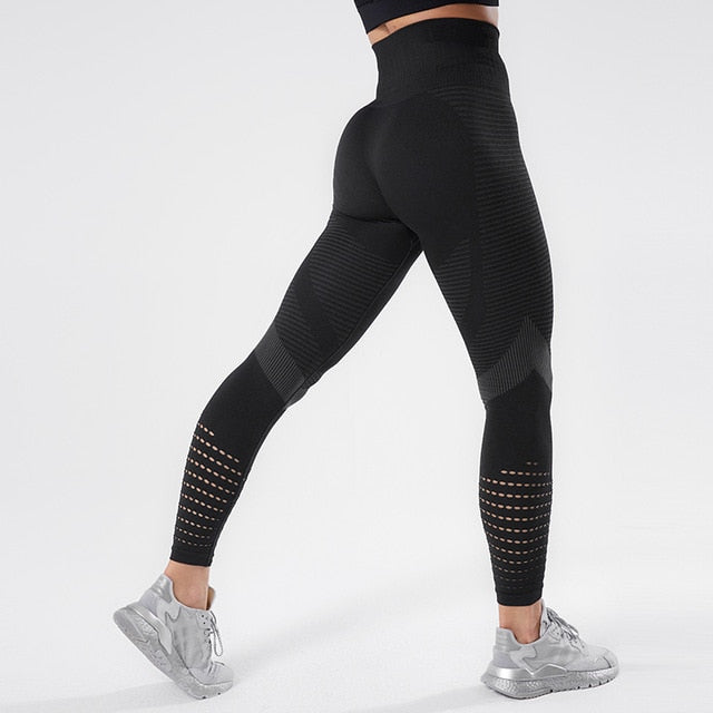 Women Fitness Leggings Push UP High Waist Legging Women Sexy Breathable Feamle Workout Leggins Mujer