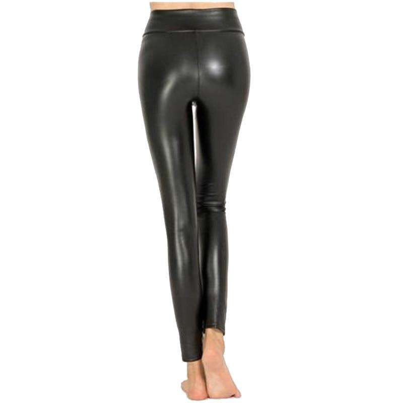 Love For Leggings™ - Faux Leather Leggings - Matte Shine
