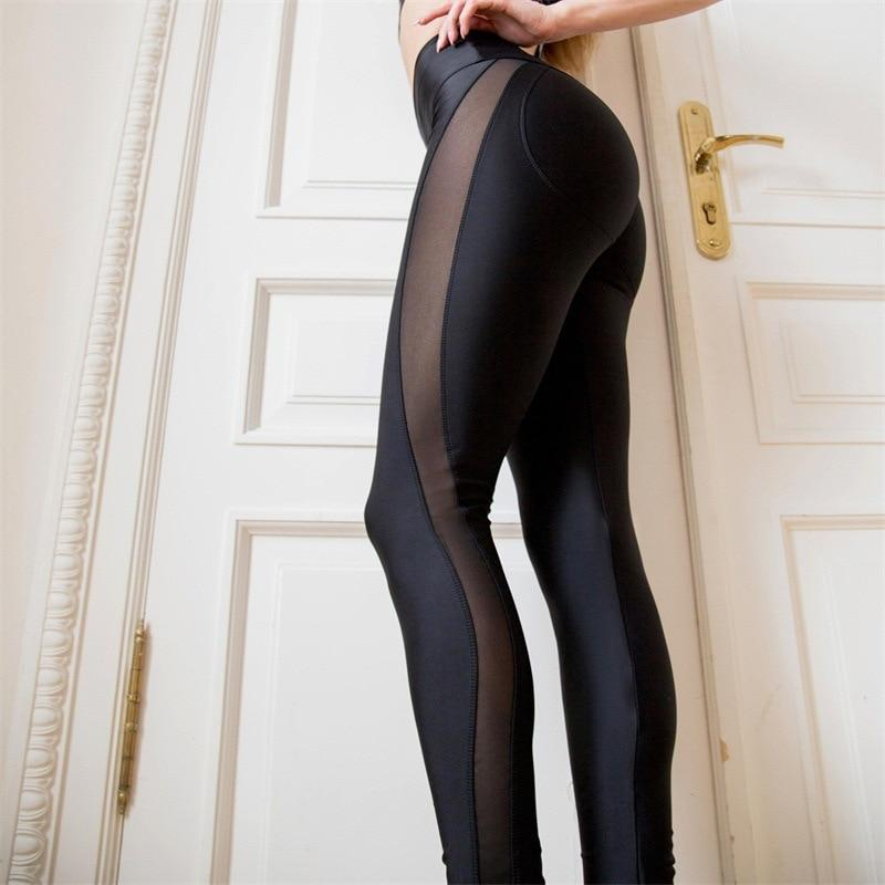 Mesh Patchwork Leggings - Love For Leggings
