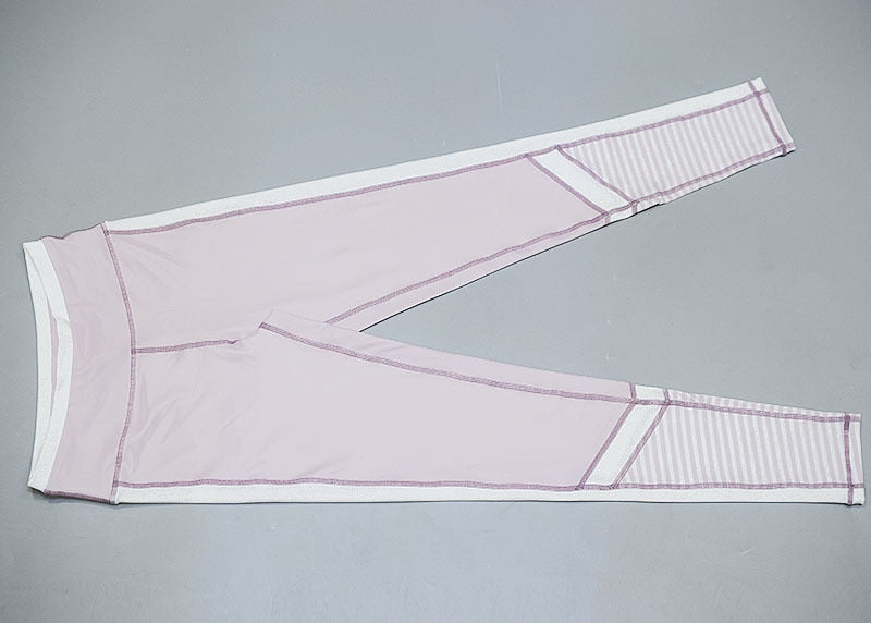 Cyclones™ - White N' Pink Mesh Leggings - Love For Leggings