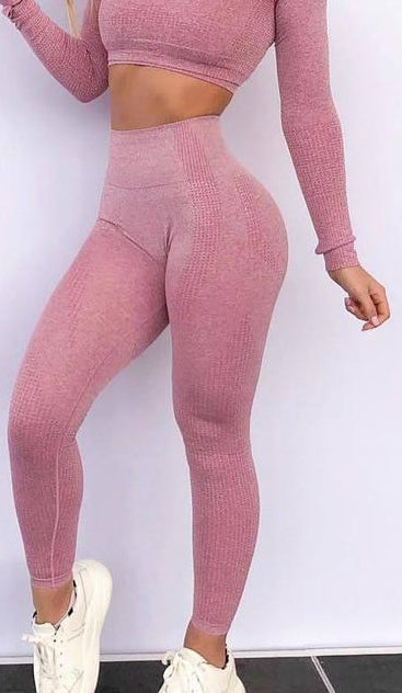 High Waist Seamless Pushup Leggings - Love For Leggings