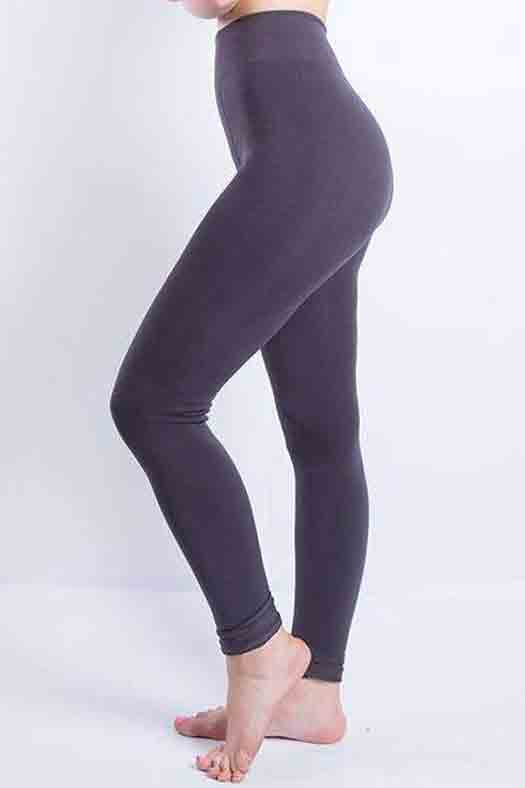Sweater Leggings - Faux Velvet Thick Slim Leggings - Love For Leggings