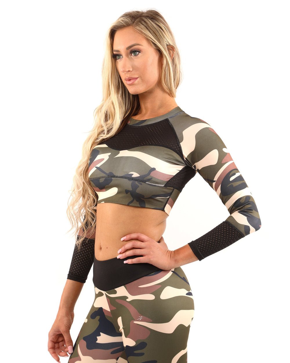 Virginia Sports Top - Camouflage