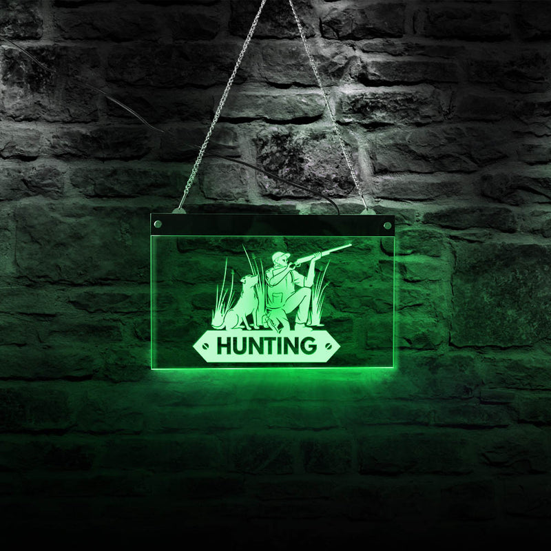 Hunter LED Neon Sign - MannenDingen