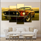 Oude Ford Mustang HD Canvas - MannenDingen