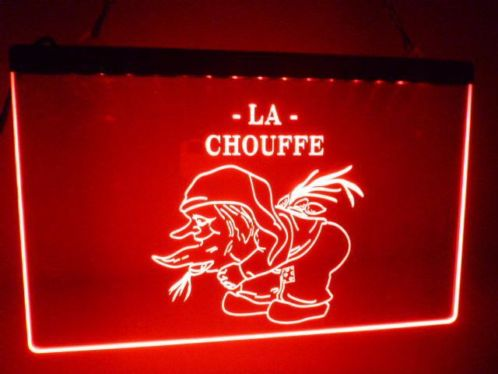 La Chouffe LED Neon Sign - MannenDingen