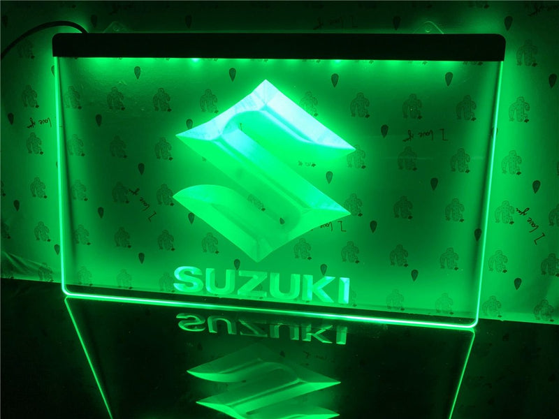 Suzuki LED Neon Sign - MannenDingen