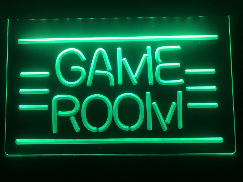 GAME ROOM LED Neon Sign - MannenDingen